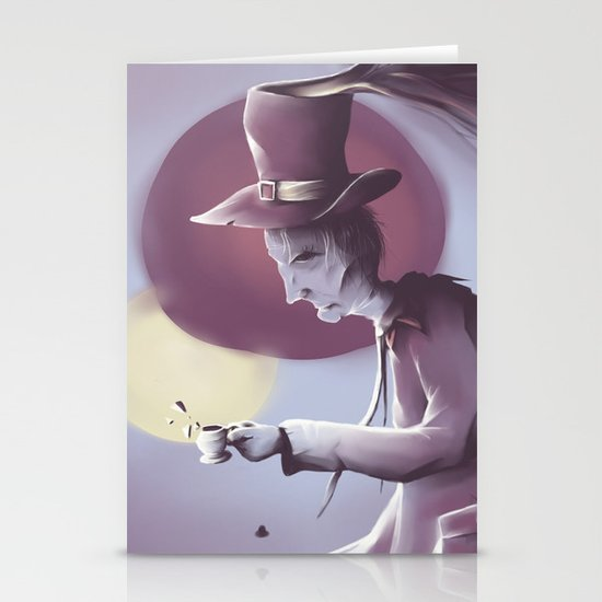 The hatter Stationery Cards