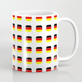 Flag of Germany -with soft square Coffee Mug