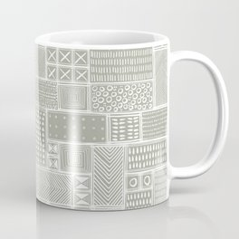 African Sand Tribal Mud Cloth Coffee Mug