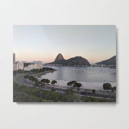 Rio de Janeiro by morning Metal Print
