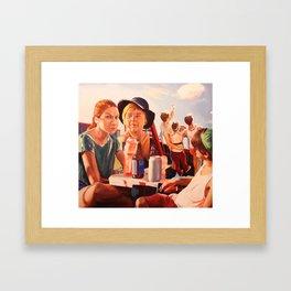 Untitled (Fourth of July I) Framed Art Print