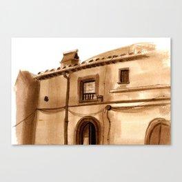 Viterbo Windows - 4 Canvas Print