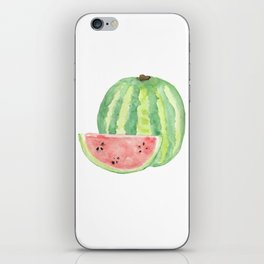 Watermelon Watercolour  iPhone Skin