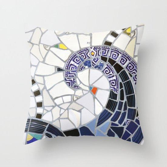 Blue Fandango Mosaic by summerhouseart