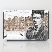 kafka iPad Cases featuring Kafka by Nina Palumbo Illustration