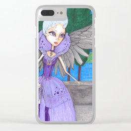 Angel Eyes Clear iPhone Case