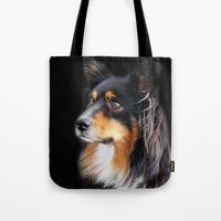 lucy Tote Bags featuring lucy by ensemble creative