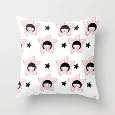 Sakura Season / 벚꽃의 계절 Throw Pillow