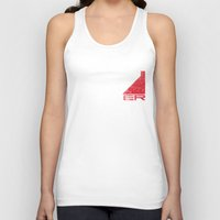 n7 Tank Tops featuring N7 Solider by Draygin82