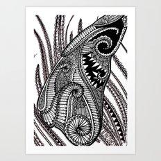 Engagement Wing Art Print