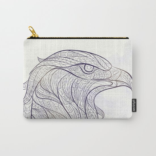 Ethnic Eagle Carry-All Pouch