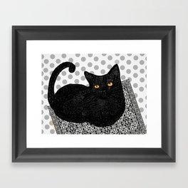 Artie CatDoodle Framed Art Print