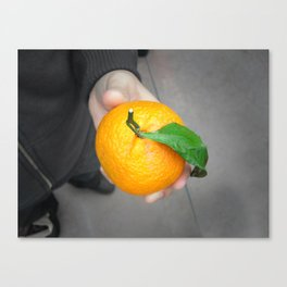 california orange Canvas Print