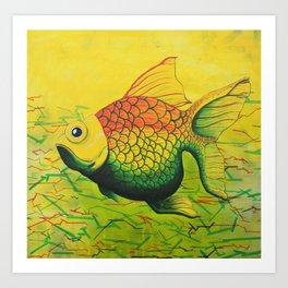 LEONARD-GONZA - FISH Art Print