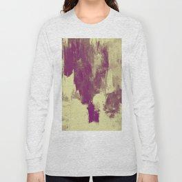 Textured Purple Long Sleeve T-shirt