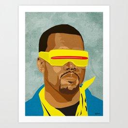 Chicago's Hip Hop Hero Art Print
