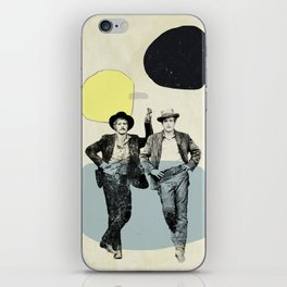 BUTCH CASSIDY AND THE SUNDANCE KID iPhone Skin