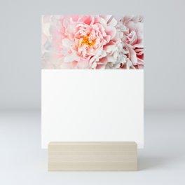 Peony Flower Photography, Pink Peony Floral Art Print Nursery Decor A happy life - Peonies 2 Mini Art Print