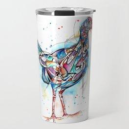 Inked Pukeko Travel Mug