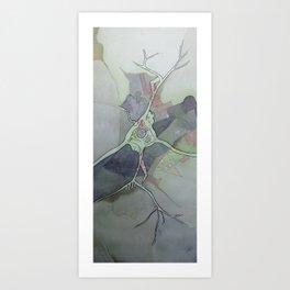 Neuron Map Art Print