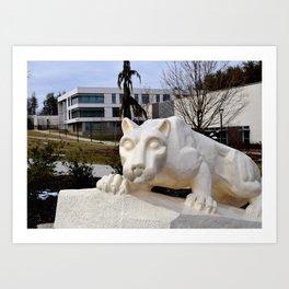 Nittany Lion (1) Art Print