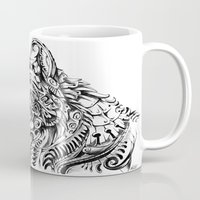 dreamer Mugs featuring Dreamer by René Campbell