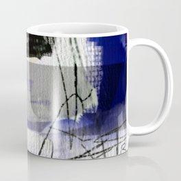 The river laughs of wet pines, this spring, sound tumult of water. (Haiku series n.2) Coffee Mug