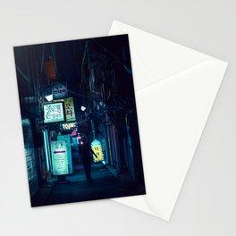 Seoul backstreets Stationery Cards