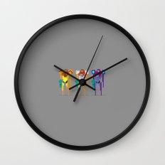 Corruption Wall Clock