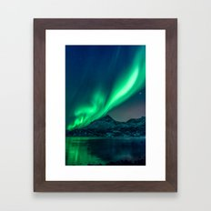 Aurora Borealis (Northern Lights) Framed Art Print