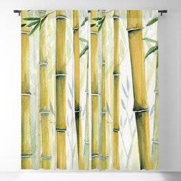 Bamboo Trees Blackout Curtain