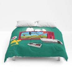 Duck Game Comforters