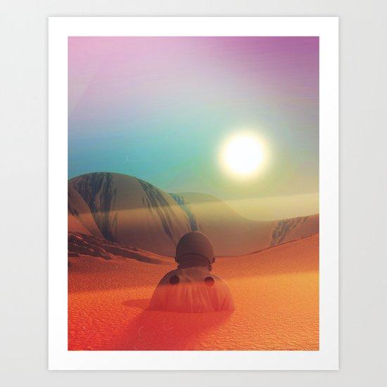 Sundazed Art Print