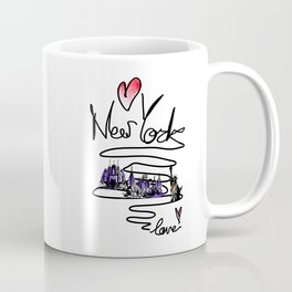 Love New York Coffee Mug