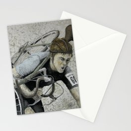 Carrying Vintage Bicycle Stationery Cards