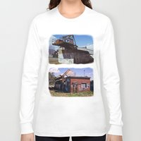 western Long Sleeve T-shirts featuring Western Power by Vladnev