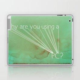 Mac Snob Laptop & iPad Skin