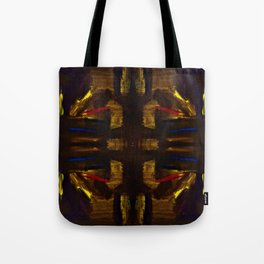golden signs Tote Bag