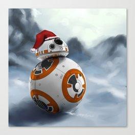 Christmas BB8 Canvas Print