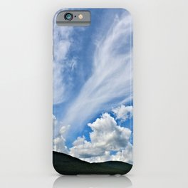 Cloud Path to the Milky Way iPhone Case