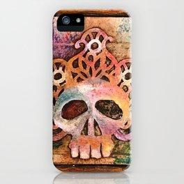 San Francisco Sugar Skull 5 iPhone Case