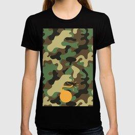 BOMB - CAMO & ORANGE T-shirt