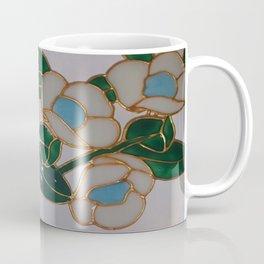 Australian Leatherwood Flower~Muted White Background~OVERSIZED Coffee Mug