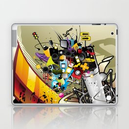Sound System Space Laptop & iPad Skin