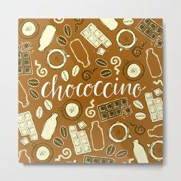 Chococcino Metal Print