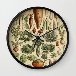 legume et plante potageres Wall Clock