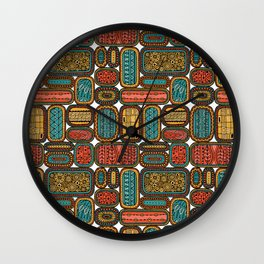 Oblongs 1 Wall Clock