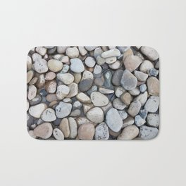 Small stones above the water Bath Mat