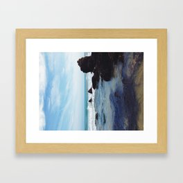 The Pacific III Framed Art Print