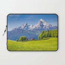 Berchtesgaden Alps 4k mountains summer Alps Germany Europe Laptop Sleeve